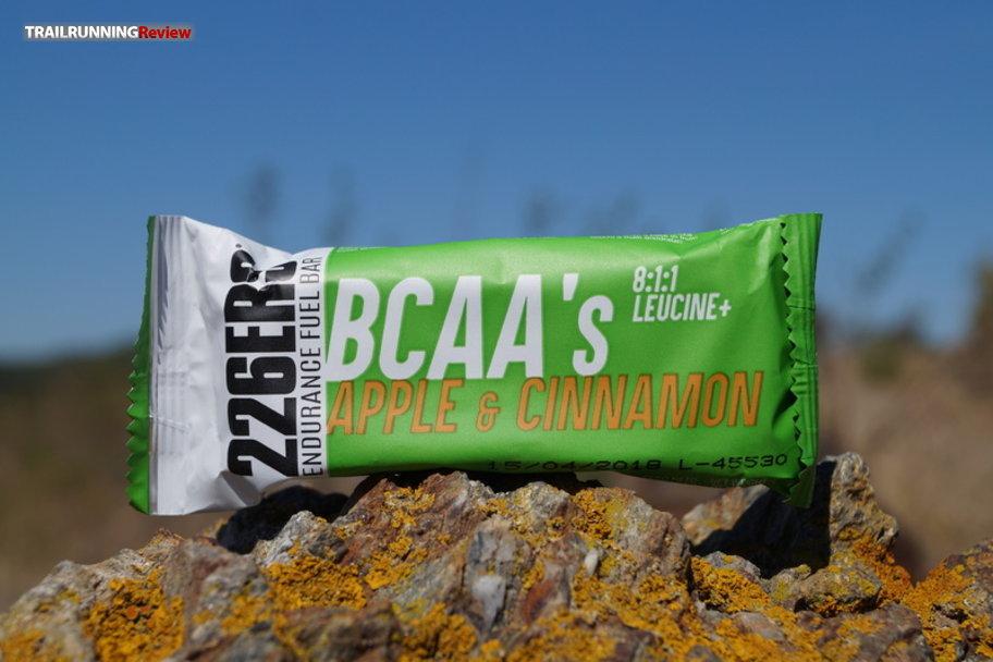 Review 226ERS - Endurance Fuel Bar BCAA's