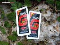 32Gi G-Shot: 32Gi G-Shot está disponible únicamente en sabor café.