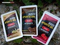 32Gi Sports Gel: 32Gi Sports Gel están disponibles en 5 sabores, naranja, vainilla, café, fruta de la pasión y frambuesa.