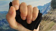 ARCh MAX Belt PRO: sencillo y sin elementos rígidos, cabe en 1 mano