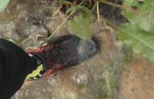 Adidas Kanadia TR 8: Adidas Kanadia TR 8: No son impermeables, pero evacuan bien el agua