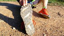 Adidas Terrex Agravic Speed: Suela con taqueado prominente