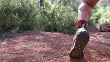 Adidas Terrex Two Boa: La flexibilidad de la suela es muy buena y se adapta al terreno perfectamente