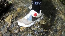 Adidas Terrex Two Boa: También las hemos mojado para ver cómo funcionan en terrenos húmedos