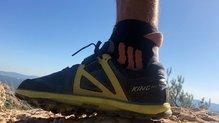 Altra King MT 2.0: Gracias a los termosellados que abrigan todo el medio pie, se gana un mayor ajuste.