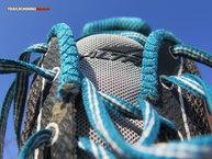 Altra Lone Peak 2.5: Cordones tradicionales en las zapatillas Altra Lone Peak 2.5