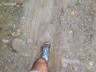 Altra Lone Peak 2.5: Curiosa forma de las zapatillas Altra Lone Peak 2.5