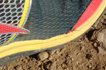 Altra The Superior 1.5: Zona débil en la parte interna del pie