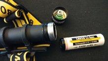 Armytek Wizard Magnet USB: Armytek Wizard Magnet USB con una batería 18650 Li-Ion 3200mAh que pesa tan solo 46 gramos