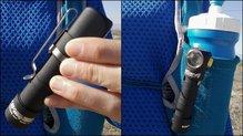 Armytek Wizard Magnet USB: Armytek Wizard Magnet USB la pinza que incorpora el set es útil para mover de sitio la linterna según nos convenga