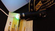 Armytek Wizard Magnet USB: Armytek Wizard Magnet USB cargador por USB
