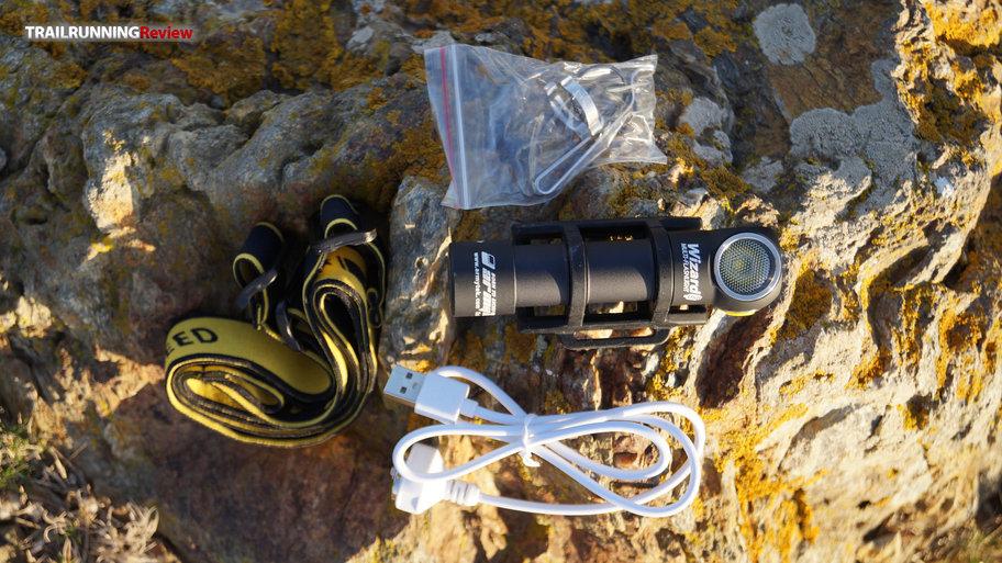 Armytek Wizard XP-L blanco imán USB con batería-frente lámpara y linterna