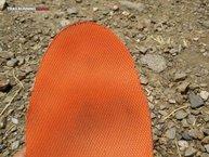 Asics Fuji Trabuco 5: Asics Fuji Trabuco 5: En la parte derecha se pueden ver los mordisquitos a los que nos referimos