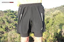 Frontal de Pantalones cortos: Asics - FujiTrail 2 in 1