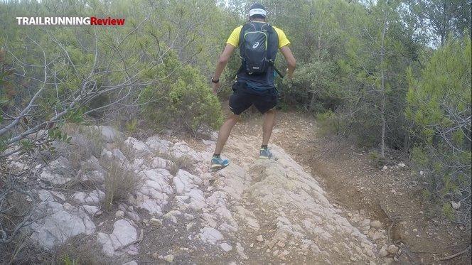 mochila trail asics