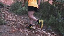 Asics Gecko XT: En terreno rocoso y seco, el agarre es muy bueno y permite al corredor moverse con agilidad