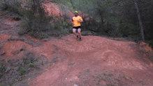 Asics Gecko XT: En terreno seco, el agarre de la suela de las Asics Gecko XT ha sido más que bueno