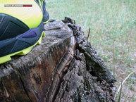 Asics Gel Fuji Endurance: Asics Gel Fuji Endurance: Detalle del grueso de la mediasuela