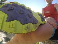 Asics Gel Fuji Endurance: Asics Gel Fuji Endurance: Detalle de la suela y distribución de los tacos