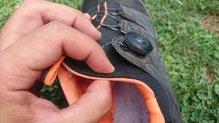 Asics Gel Fuji Rado: Asics Gel Fuji Rado, mono-sock fit.
