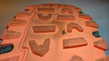 Asics Gel Fuji Rado: Asics Gel Fuji Rado, desgaste suela.