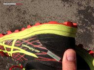 Asics Gel Fuji Runnegade 2: Asics Gel Fuji Runnegade 2: Abrasión total en los tacos traseros