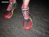 Asics Gel Fuji Runnegade 2: Asics Gel Fuji Runnegade 2: El tejido no es impermeable