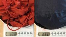 Berg Outdoor Mustang: Comparativa de peso con otra membrana vs la Berg Outdoor Mustang