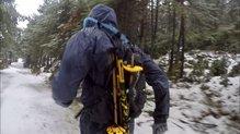 Berg Outdoor Mustang: La Berg Outdoor Mustang permite llevar mochilas encima sin problemas