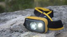 Black Diamond Spot325: Con la máxima potencia funcionan los dos focos. Y esto nos permite ir a ritmos rápidos por senderos y pistas forestales
