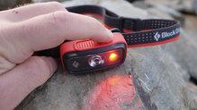 Black Diamond SpotLite160: Los botones son de fácil acceso y funcionan a la perfección