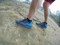 Brooks Cascadia 12: Brooks Cascadia 12, perfiles altitos.