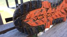 Brooks Cascadia 13: La durabilidad de la suela es muy buena. Las Brooks Cascadia 13 han sido pensadas para durar muchos kilómetros