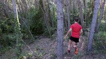 Brooks Cascadia 13: En terreno con hojas y tierra el agarre de los tacos ha sido bueno