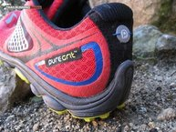 Brooks PureGrit 3: Ideal Heel