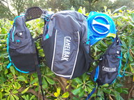 Camelbak Ultra 10 Vest: Camelbak Ultra 10 Vest, vista general con la bolsa de hidratación de 2 litros.