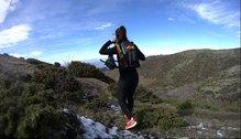 Camelbak Ultra 10 Vest: Camelbak Ultra 10 Vest, entrenando.
