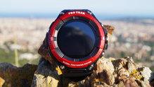 Frontal de Relojes: Casio - Pro Trek Smart WSD-F21HR