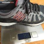 Columbia PeakFreak Enduro OutDry: Si nos ceñimos a su peso, éste no es elevado para la práctica del trail running