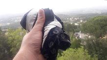 Compressport UltRun S Pack: Compressport UltRun S Pack  cabe en una mano.