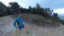 Corriendo por zonas abiertas