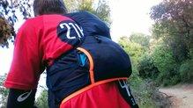 Dynafit Alpine Running Vest: El tejido de los compartimentos mantiene su elasticidad en la Dynafit Alpine Running Vest