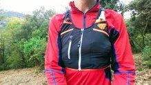 Dynafit Alpine Running Vest: Con un soft flask se mantiene el buen reparto del peso en la Dynafit Alpine Running Vest