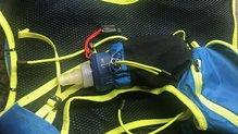 Dynafit Enduro 12: Bolsillo delantero con soft flask de 250cl - Dynafit Enduro 12