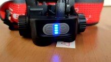 Fenix HM65R-T vista de los led de la carga de la batería.