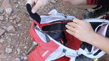 Ferrino Desert Kat: En la parte interior se puede llevar una bolsa de hidratación de hasta 2 litros de agua