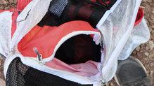 Ferrino Desert Kat: En el interior existe un bolsillo que nos permite dividir la carga en dos