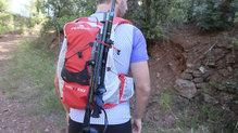 Ferrino Desert Kat: El sistema de cargar los palos debe mejorarse