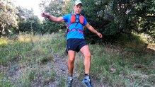 Ferrino Dry Run 12: Bajando, sin molestias, con la Ferrino Dry Run 12.