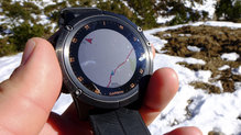 Garmin Fenix 5X Plus: Incluso con el sol directo, la pantalla del Garmin Fenix 5X Plus funciona a la perfección